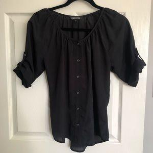 Express Blouse - Black